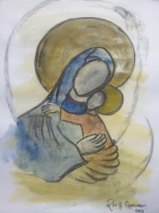 Moeder en Kind ikoon